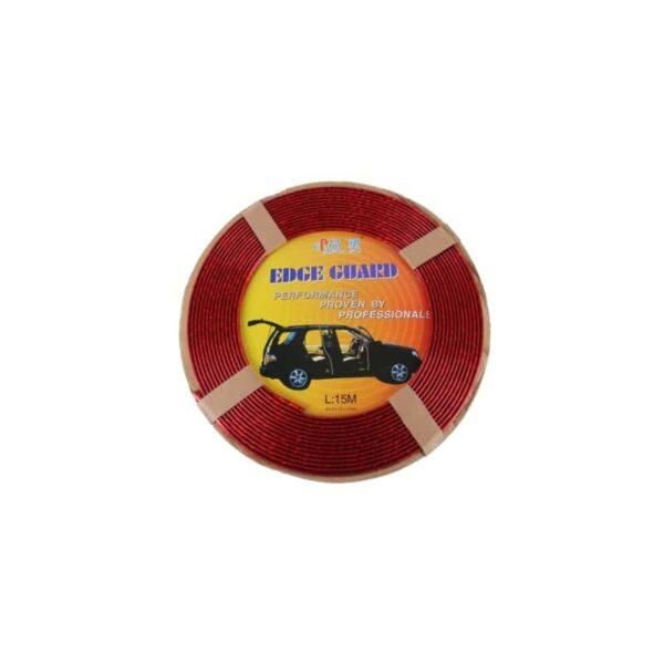 35888 - Защита двери (торцевой молдинг) черного, красного, серебристого, золотистого цвета, полоса-протектор 12 м