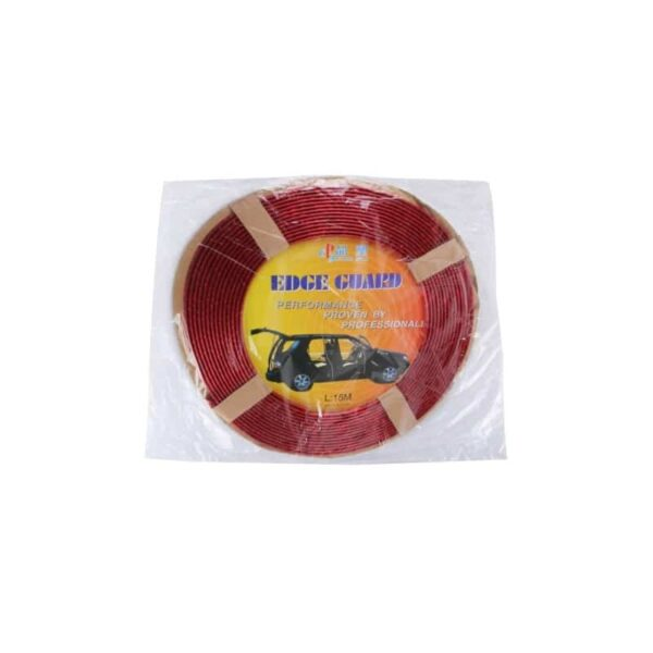 35891 - Защита двери (торцевой молдинг) черного, красного, серебристого, золотистого цвета, полоса-протектор 12 м