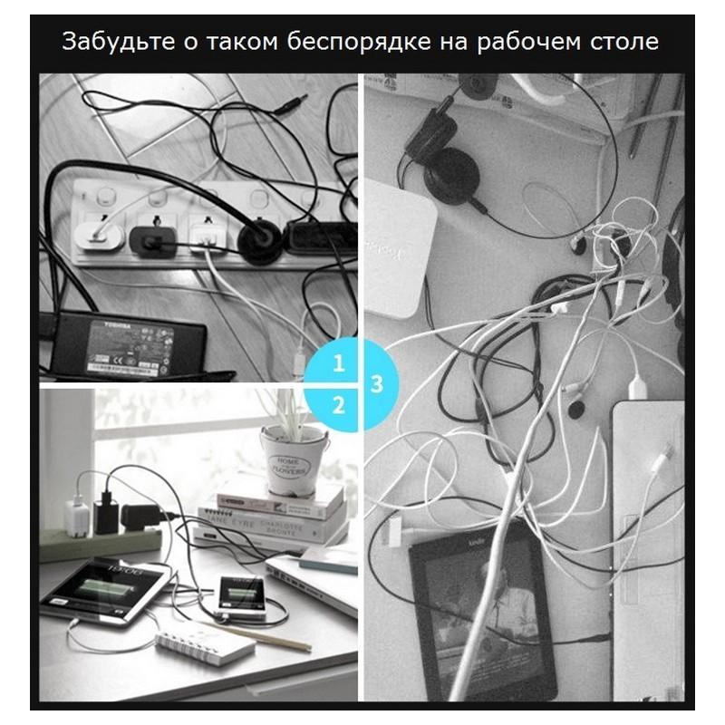 Силиконовый органайзер для проводов ORICO CBSX 211995