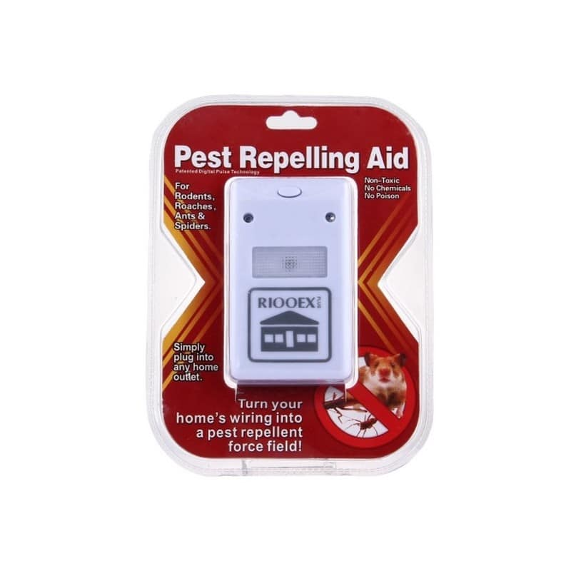Цифровой отпугиватель вредителей и насекомых Riddex Plus 212103