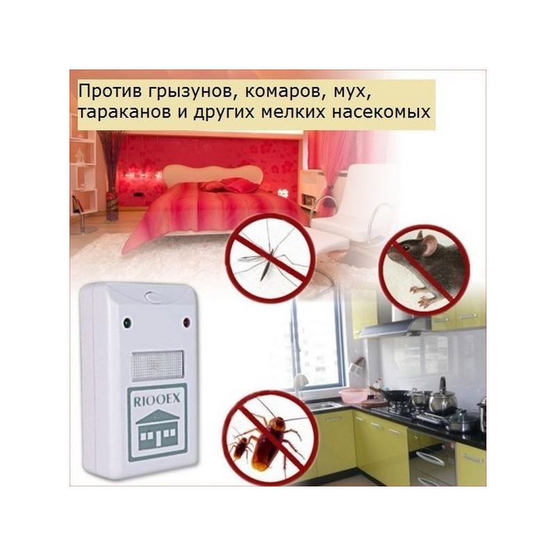 Цифровой отпугиватель вредителей и насекомых Riddex Plus 212105
