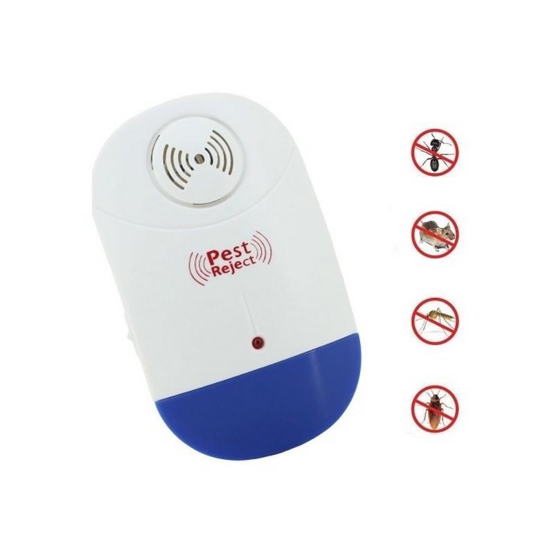 36046 - Электронный ультразвуковой репеллент Pest Reject для борьбы с вредителями со светодиодной подсветкой