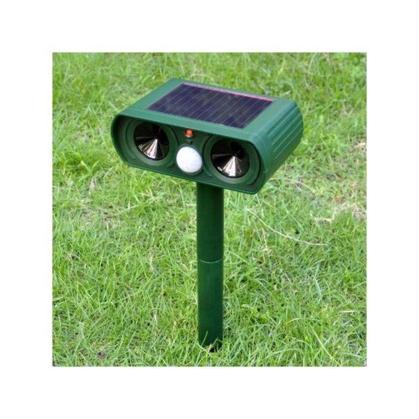 36076 - Ультразвуковой отпугиватель животных с солнечной панелью и датчиком движения
