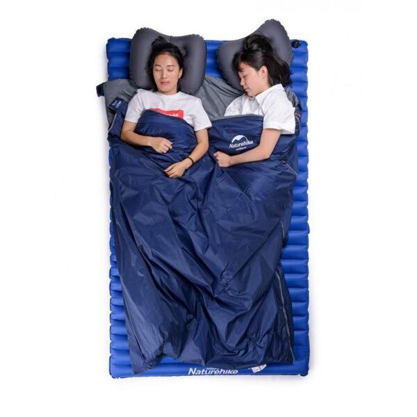 36084 - Суперлегкий (летний) спальный мешок NatureHike LW180: температура комфорта 15°