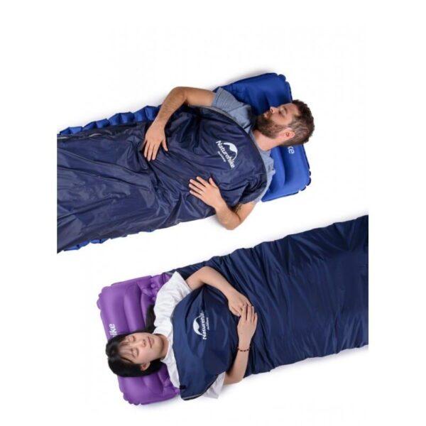 36086 - Суперлегкий (летний) спальный мешок NatureHike LW180: температура комфорта 15°