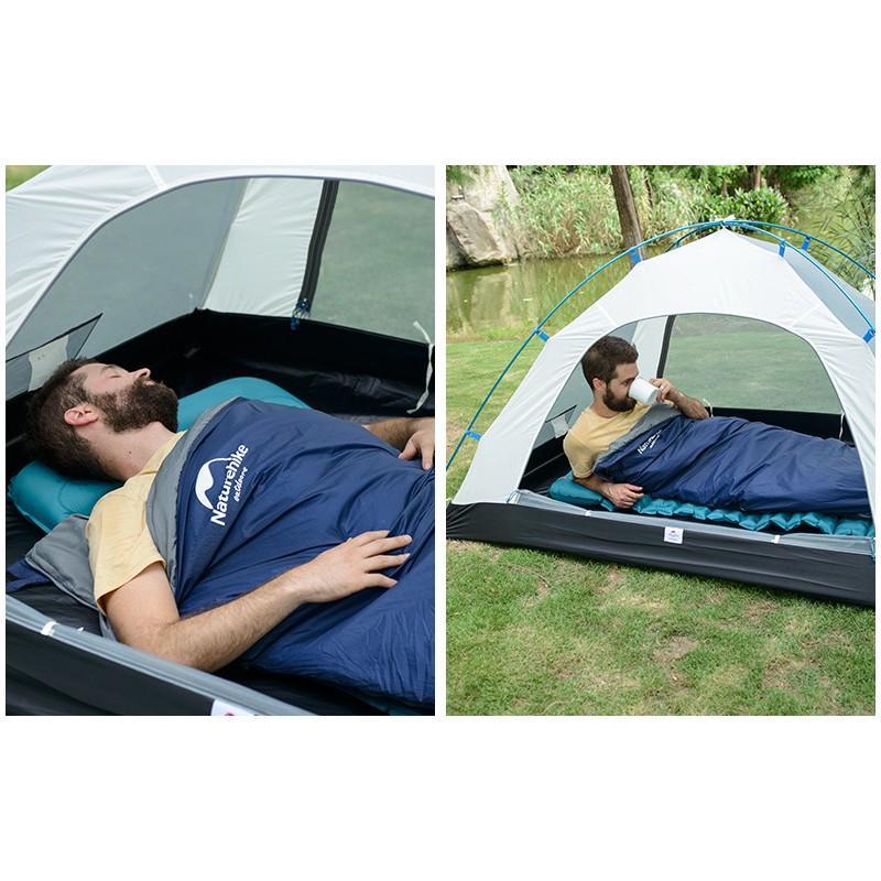 Суперлегкий (летний) спальный мешок NatureHike LW180: температура комфорта 15° 212143