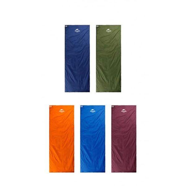 36094 - Суперлегкий (летний) спальный мешок NatureHike LW180: температура комфорта 15°