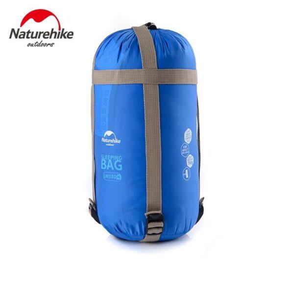 36105 - Суперлегкий (летний) спальный мешок NatureHike LW180: температура комфорта 15°