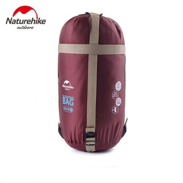 36107 - Суперлегкий (летний) спальный мешок NatureHike LW180: температура комфорта 15°