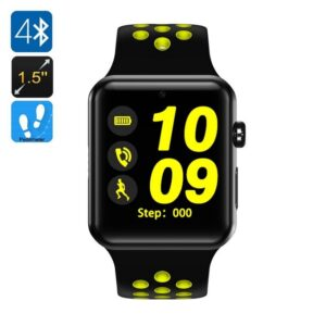 Smart часы-телефон DM09 Plus – Bluetooth 4.0, 1.5-дюймовый OLED-дисплей, 1 SIM, SMS, звонки, шагомер, монитор сна