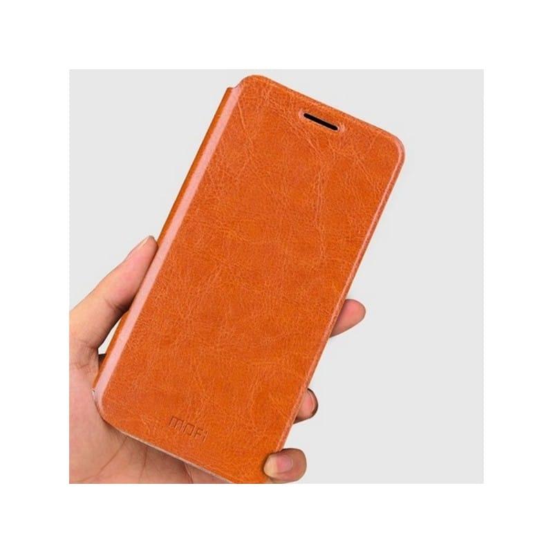 Кожаный флип-чехол для Xiaomi 5c от MOFI – фактура Crazy Horse, горизонтальный держатель 212263