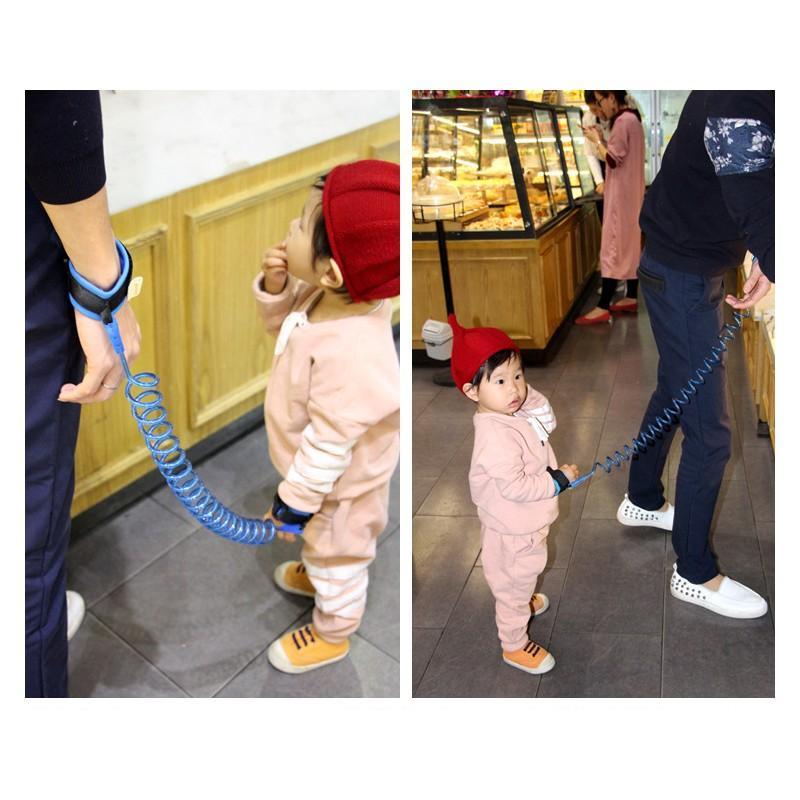 Браслет-антипотеряйка для ребенка Anti Lost Baby Safety: максимальная длина 1,5-2,5 метра 212293