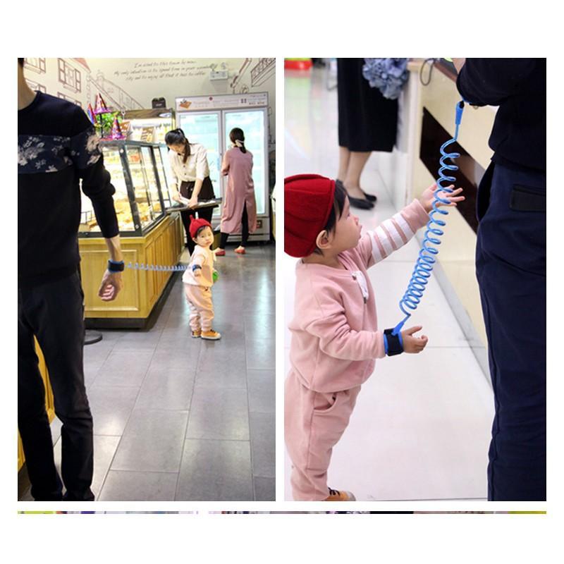 Браслет-антипотеряйка для ребенка Anti Lost Baby Safety: максимальная длина 1,5-2,5 метра 212294
