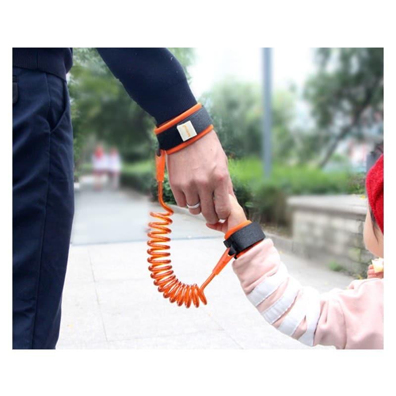 Браслет-антипотеряйка для ребенка Anti Lost Baby Safety: максимальная длина 1,5-2,5 метра