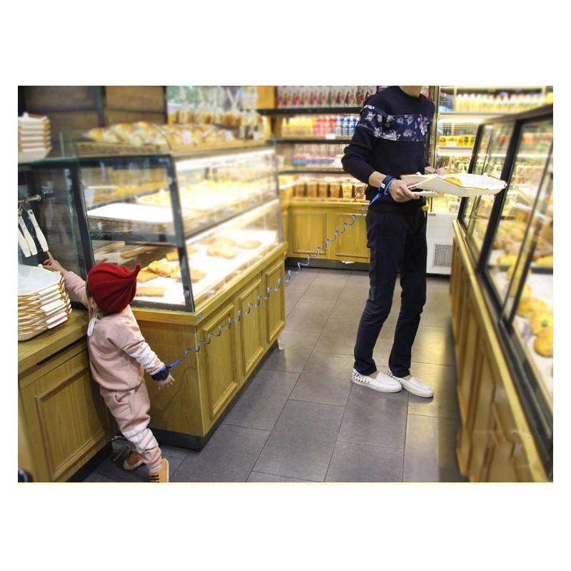 Браслет-антипотеряйка для ребенка Anti Lost Baby Safety: максимальная длина 1,5-2,5 метра 212300