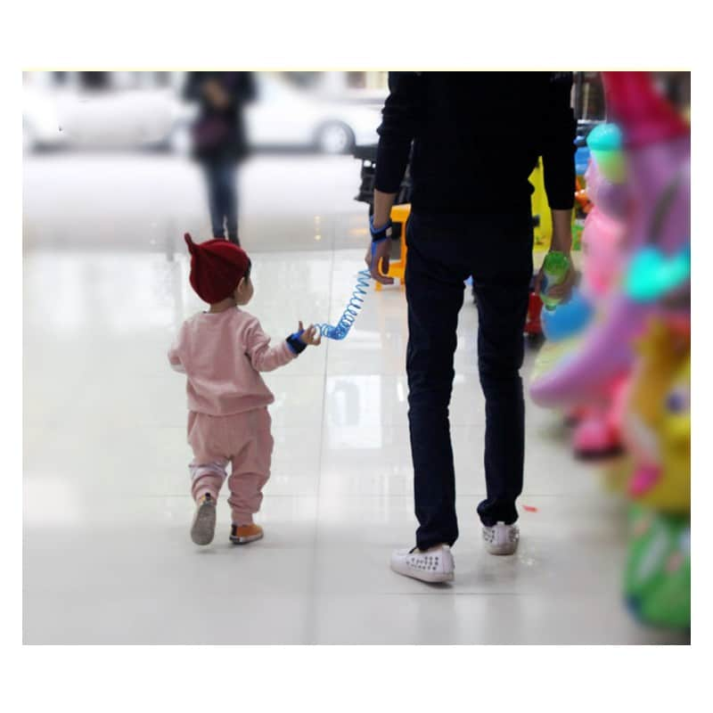 Браслет-антипотеряйка для ребенка Anti Lost Baby Safety: максимальная длина 1,5-2,5 метра 212301