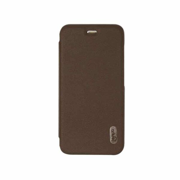 36322 - Стильный кожаный чехол для Xiaomi Mi 6 от Lenuo - PU кожа, PC пластик, отделение для карт