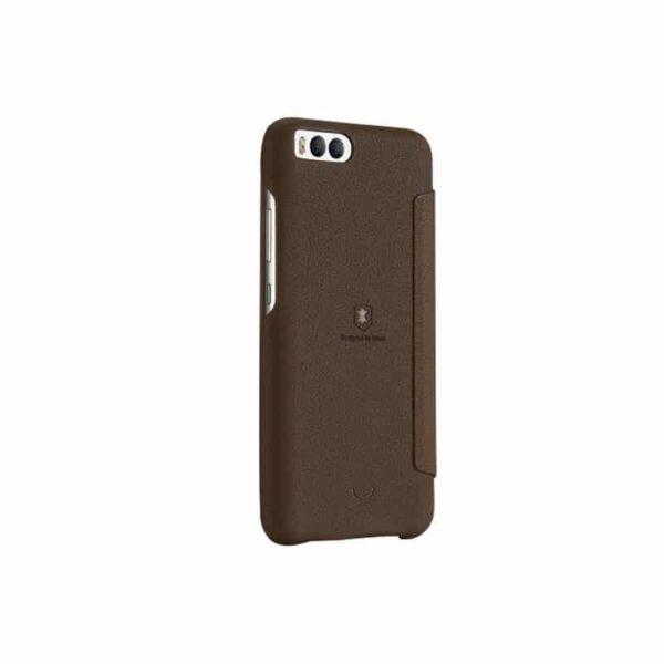 36323 - Стильный кожаный чехол для Xiaomi Mi 6 от Lenuo - PU кожа, PC пластик, отделение для карт