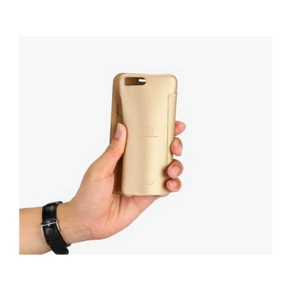 36331 - Стильный кожаный чехол для Xiaomi Mi 6 от Lenuo - PU кожа, PC пластик, отделение для карт