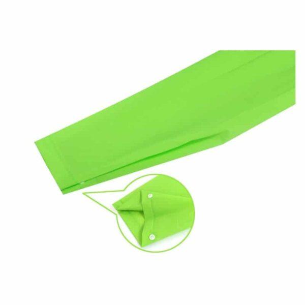 36439 - Уплотненный плащ-дождевик с капюшоном на кнопках – высокое качество, все размеры