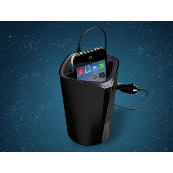 36472 - Многофункциональное зарядное устройство-органайзер ORICO UCH-C3 - 3 х USB, подставка для смартфона, 2 слота для карт