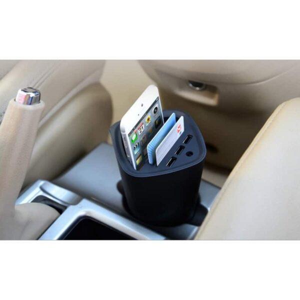 36473 - Многофункциональное зарядное устройство-органайзер ORICO UCH-C3 - 3 х USB, подставка для смартфона, 2 слота для карт