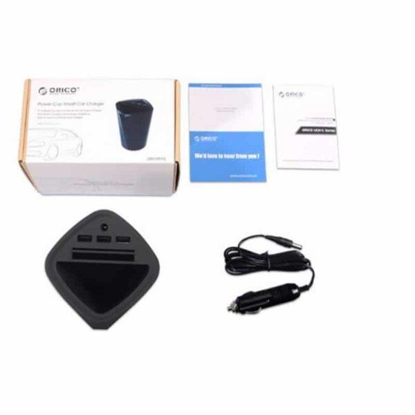 36477 - Многофункциональное зарядное устройство-органайзер ORICO UCH-C3 - 3 х USB, подставка для смартфона, 2 слота для карт