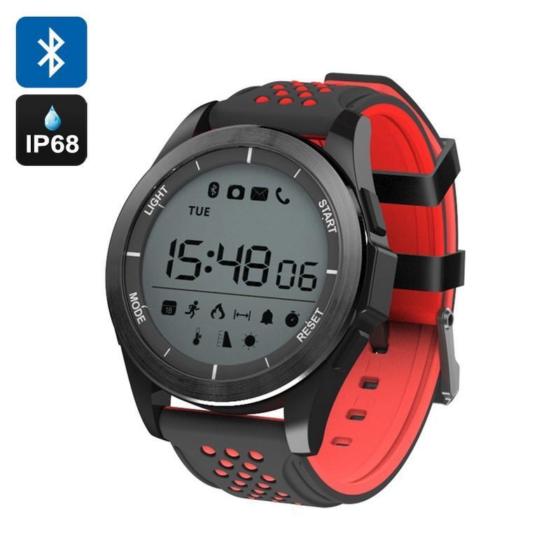 36678 - Спортивные умные часы NO.1 F3 Sports - шагомер, монитор сна, контроль активности, IP68