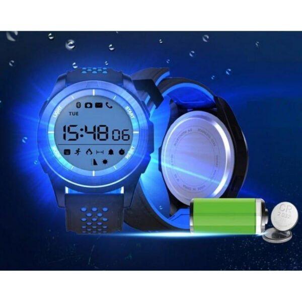 36683 - Спортивные умные часы NO.1 F3 Sports - шагомер, монитор сна, контроль активности, IP68