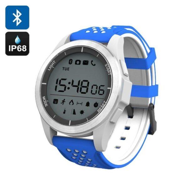 36684 - Спортивные умные часы NO.1 F3 Sports - шагомер, монитор сна, контроль активности, IP68