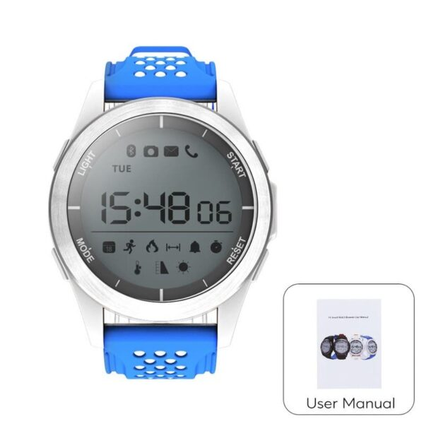 36688 - Спортивные умные часы NO.1 F3 Sports - шагомер, монитор сна, контроль активности, IP68
