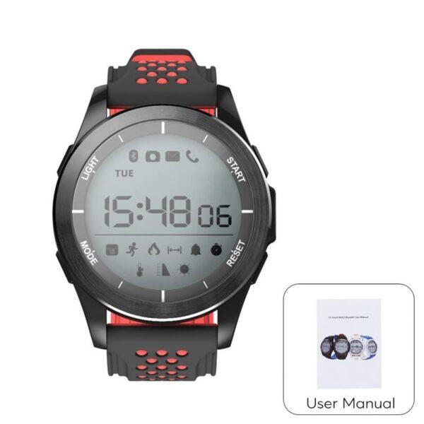 36693 - Спортивные умные часы NO.1 F3 Sports - шагомер, монитор сна, контроль активности, IP68