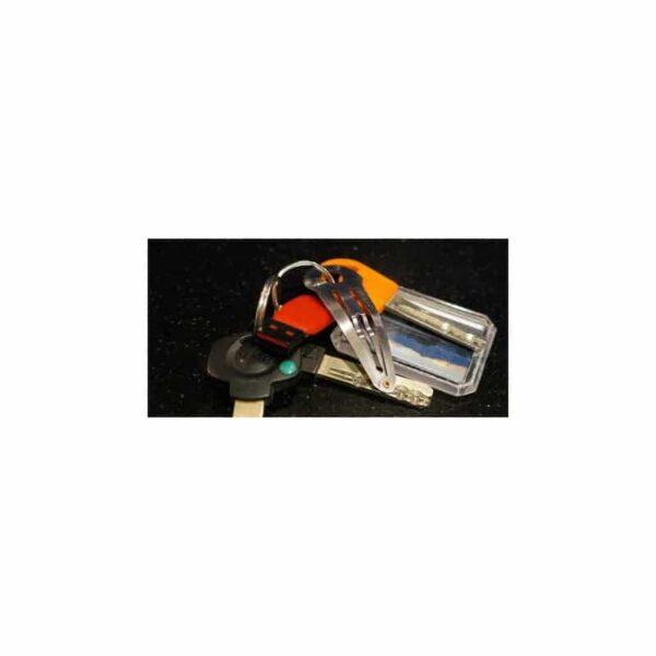 36731 - Многофункциональная заколка EDC 8 в 1: плоская/ большая/ маленькая отвертка, гаечный ключ, линейка, нож, монета для тележек