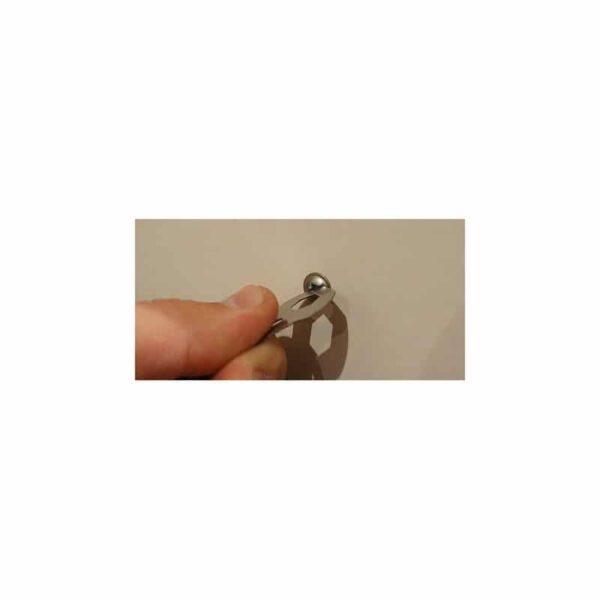 36743 - Многофункциональная заколка EDC 8 в 1: плоская/ большая/ маленькая отвертка, гаечный ключ, линейка, нож, монета для тележек