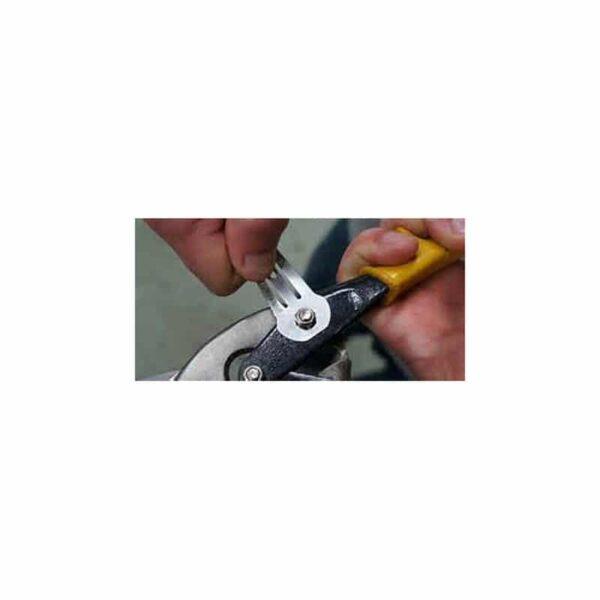 36746 - Многофункциональная заколка EDC 8 в 1: плоская/ большая/ маленькая отвертка, гаечный ключ, линейка, нож, монета для тележек
