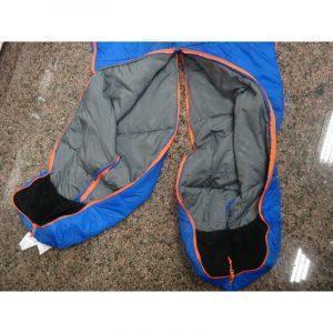 Теплый спальный мешок-комбинезон (спальник-трансформер с ногами) NatureHike + компрессионный чехол: t° комфорта 10°,