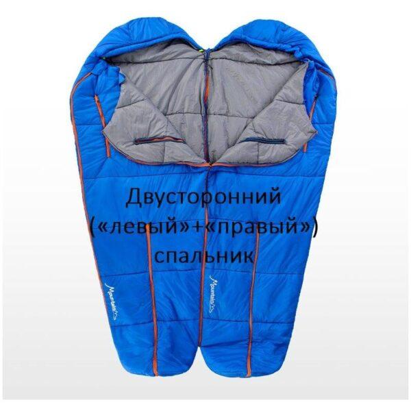 36757 - Теплый спальный мешок-комбинезон (спальник-трансформер с ногами) NatureHike + компрессионный чехол: t° комфорта 10°,