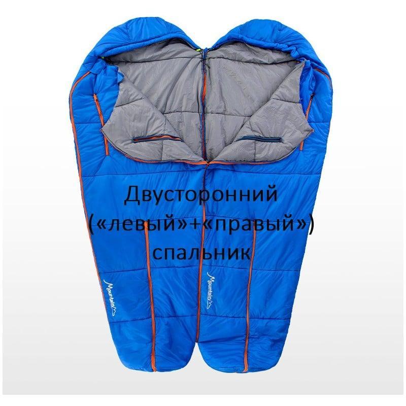 Теплый спальный мешок-комбинезон (спальник-трансформер с ногами) NatureHike + компрессионный чехол: t° комфорта 10°, 212665