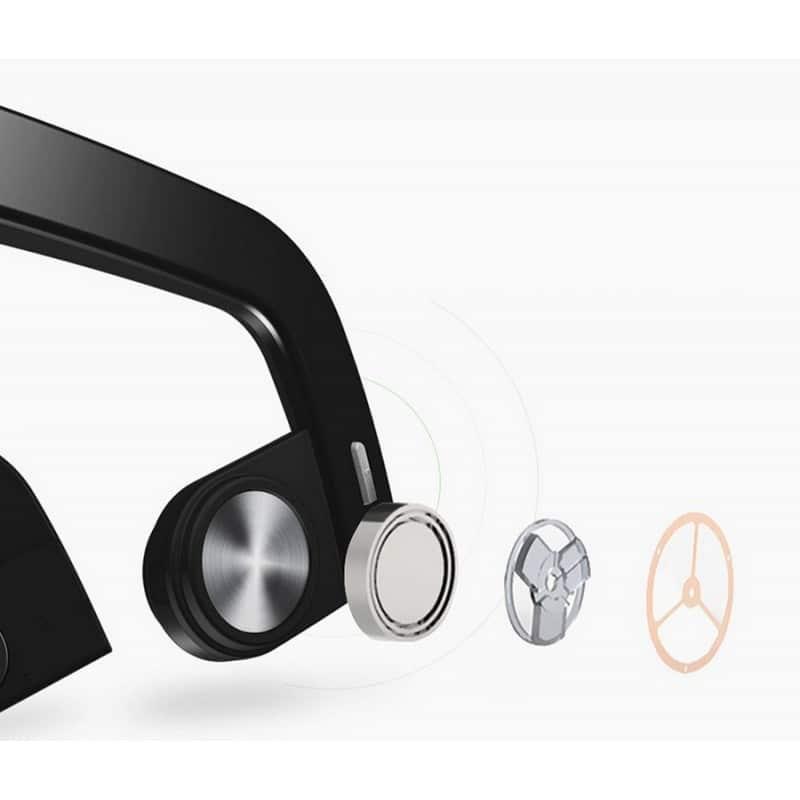 Костные Bluetooth наушники BEASUN ZD100 – Bluetooth 4.0, до 8 часов музыки, микрофон 212776