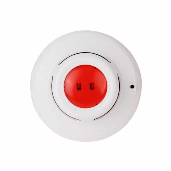36884 - Автономная пожарная сигнализация - фотоэлектрический датчик дыма, световой и звуковой сигнал, до 80 квадратных метров