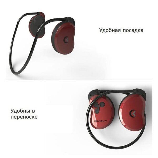 36909 - Bluetooth наушники BEASUN GY1 на основе костной проводимости - Bluetooth 4.1, до 8 часов музыки, микрофон