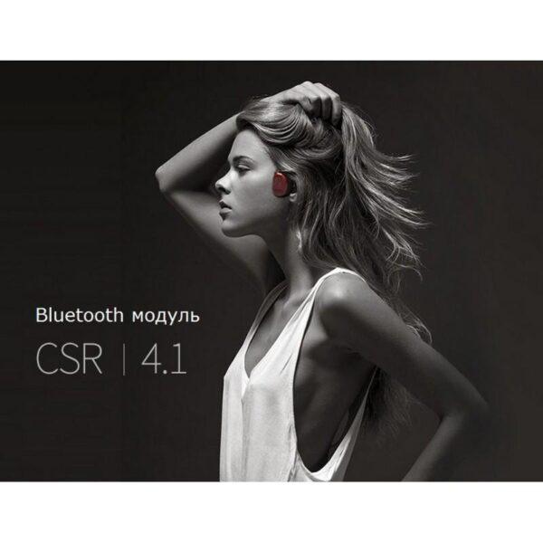 36912 - Bluetooth наушники BEASUN GY1 на основе костной проводимости - Bluetooth 4.1, до 8 часов музыки, микрофон