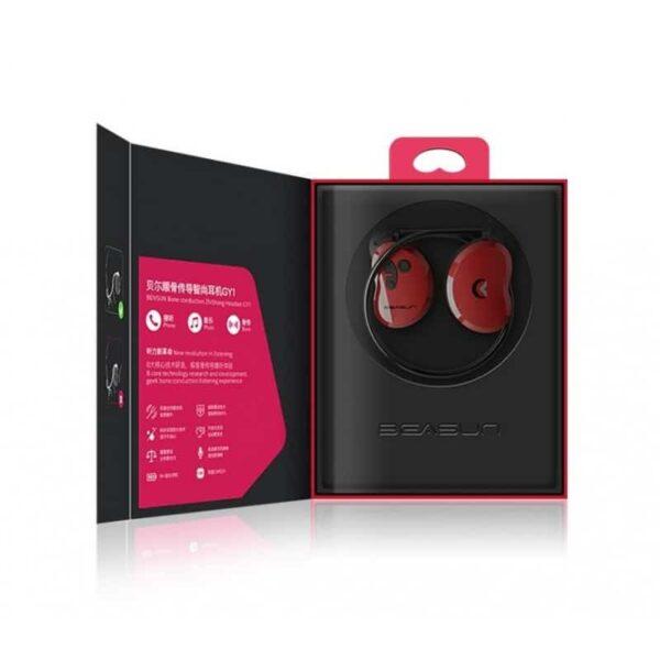 36917 - Bluetooth наушники BEASUN GY1 на основе костной проводимости - Bluetooth 4.1, до 8 часов музыки, микрофон