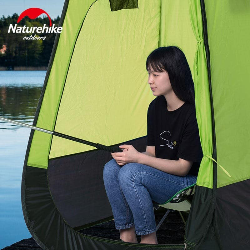 Мобильная кемпинговая палатка-душ/ туалет/ раздевалка Naturehike - Салатовый