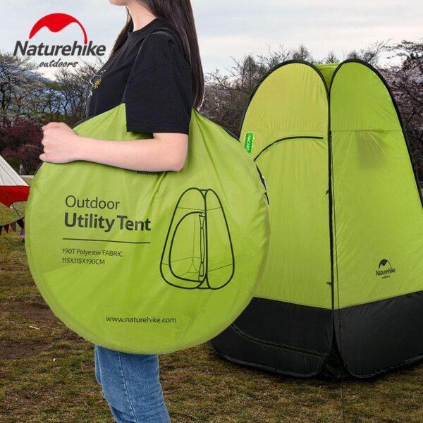 36922 - Мобильная кемпинговая палатка-душ/ туалет/ раздевалка Naturehike