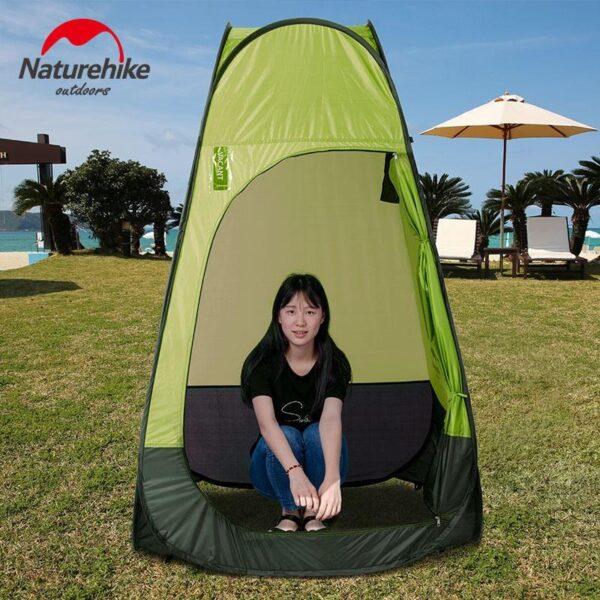 36924 - Мобильная кемпинговая палатка-душ/ туалет/ раздевалка Naturehike