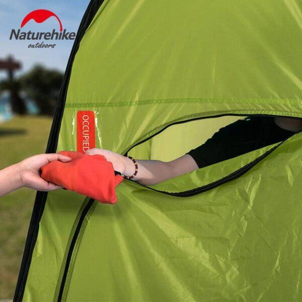 36925 - Мобильная кемпинговая палатка-душ/ туалет/ раздевалка Naturehike