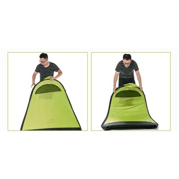 36927 - Мобильная кемпинговая палатка-душ/ туалет/ раздевалка Naturehike