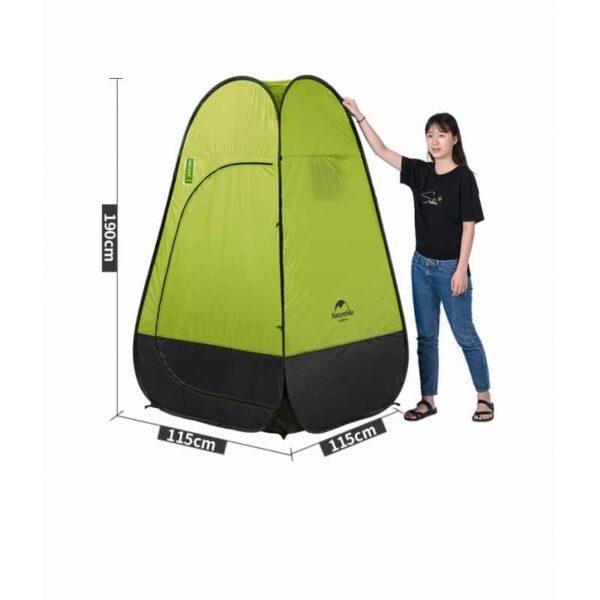 36929 - Мобильная кемпинговая палатка-душ/ туалет/ раздевалка Naturehike
