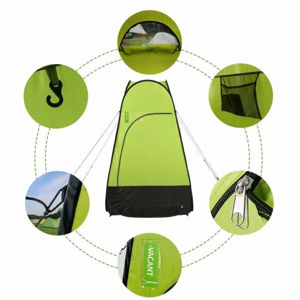36930 - Мобильная кемпинговая палатка-душ/ туалет/ раздевалка Naturehike